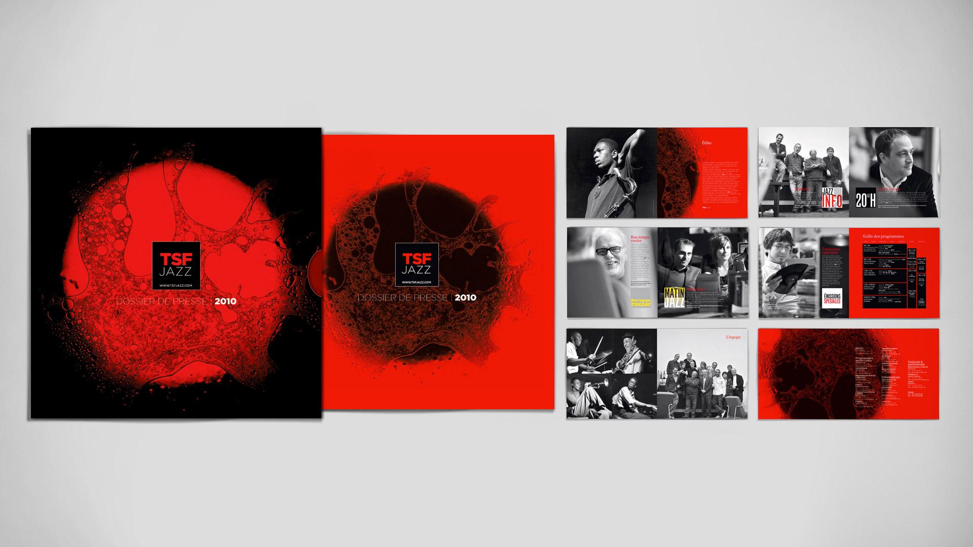 Dossier de presse <br /> pochette + brochure 24 pages